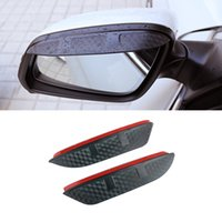 For Mercedes-Benz CLA C117 2013-2018 CLS W218 2012-2014 Car Stickers Side Rearview Mirror Rain Eyebrow Visor Sun Shade Guard Accessories