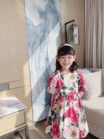 الصيف الأزهار اللباس للأطفال فتاة الصيف الحلو الطفل الفتيات حفلة عيد أزياء الأطفال أبلى