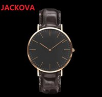 top brands send original gift box brand watches for men and women high quality leather nylon belt couple simple 40mm 36m high-end wristwatch