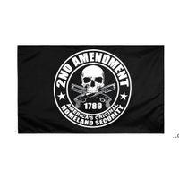 Прямая фабрика Оптовая продажа 90 * 150 см 3x5 FTS Конституция США 2-й второй Флаг поправки для поправки FWB9311