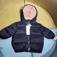 Otoño invierno diseñador niñas muchachos delgado abrigo abajo niños niño cuadros acolchado chaquetas abrigos niños mantén cálido con capucha cremallera ropa exterior ropa de bebé niña ropa