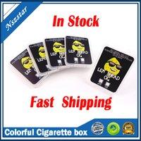 Vide coloré Impression plastique de bons boîtiers Cire concentré emballage emballage casquette de carte SD conteneur de carte SD avec blagues en runtz up cakemix gelato autocollants