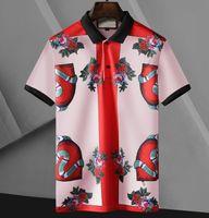 Классические дизайнерские мужские рубашки поло мода дизайн Polos для мужчин женщин High Street Tee рубашка летние повседневные топы одежда