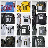 مخصص مطبوعة كرة السلة الفانيلة 7 كيفن 13 هاردن ديورانت 11 كيري 2 بليك ايرفينج غريفين 21 لاماركوس 26 سبنسر ألدريدج دينوددي جيرسي