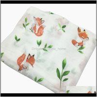 Swaddling Ins 70 Bamboo Fiber 30 Cotton Baby Blanket Bedding Swaddle Wrap Gauze Muslin Blankets Soft Breathable For Born 201106 Qlngh Xnidj