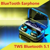 TWS 블루투스 헤드셋 이어폰 이어폰 미니 블루투스 이어폰 터치 스포츠 방수 5.1Bluetooth 헤드셋 무선 이어폰 M10
