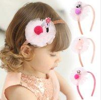 Дизайнерские сумки Swan Scan Mesh Moddlers Headwear Glitter Girls Hairpin Boutique Детские аксессуары для волос 4 цвета Дополнительно оптом BT3984