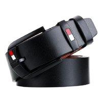 Belts Men Genuine Leather Belt Luxury Designer Pin Buckle Cowskin Fashion Real Strap Male Jeans For Man Cinturones