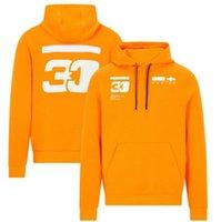 F1 Team Racing Hoodie, winddicht und warm, Verstappen Car Jacket wird im selben Stil angepasst