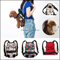 Car Seat Ers Pet Supplies Home & Gardensecurity Puppy Small Dog Carrier Travel Front Back Backpack Carrying Pouch Bags Drop Delivery 2021 Uf