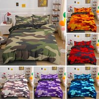 Bedding Sets Camouflage Set Boy Teen Kids Abstract Duvet Cover With Pillowcase King Queen Twin Size Comforter Home 2 3Pcs Bedclothes