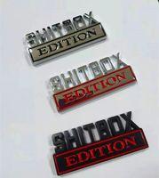 1x 3D ABS 엠블럼 Shitbox Edition 배지 자동차 꼬리 측면 스티커 액세서리