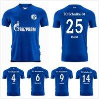21 22 Schalke 04 Jerseys de fútbol Huntelaar Bentaleb Kutucu 2021 2022 Raman Hoppe Harit Uth Skrzybski Jersey Men Football Camiseta Uniformes
