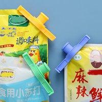 Закуска уплотнительная клип свежая поддержание уплотнитель зажим пластиковый помощник еда заставка путешествия кухонные гаджеты уплотнения наливают еда хранения сумка клип CCF7032