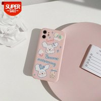 Milk tea dog Apple 11promax mobile phone case iphone12 camera all-inclusive 7 suitable for XR 8plus soft X #NP4u