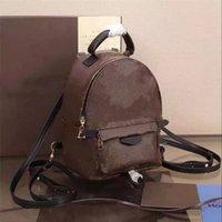 Palm Springs Femmes Mini Sac à dos Sac à dos En Cuir Petit Knapsack Fashion High Qaulity Schoolbag Bag de téléphone portable