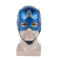 Kaptan 3 Sivil Amerika Savaş Kaptan Kask Amerika Yumuşak PVC Cosplay Steven Rogers Süper Kahraman Lateks Maske Cadılar Bayramı Partisi Prop