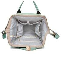 기저귀 저장 가방 다기능 여행 배낭 아기 기저귀 변화하는 엄마 가방 녹색