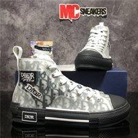 Hombres de primera calidad Mujeres Diseñadores Zapatos DIORES B22 DIOR B23 OBRICANO PARA HOMBRES MUJERES DE MODA TECNOLOGÍA DE MODA CASUAL DE LIVAS DE LIVAS Zapatillas de deporte con caja