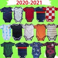 Germany France Portugal 2021 Equipe Nacional Kit de bebê Japão Jersey Itália Espanha Japão Mecixo Argentina Miúdos Terno 2022 Mês Meninos Criança Conjuntos de Futebol 21 22
