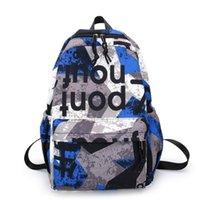 Sırt Çantası Üst Marka Unisex Moda Oxford Okul Çantası Seyahat Rahat Bookbag 20-35 litre Bir Ana Kese Femme 2021