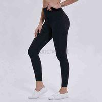 Euoka 솔리드 컬러 여성 요가 바지 높은 허리 스포츠 체육관 착용 레깅스 탄성 피트니스 레이디 전체 전체 스타킹 운동 크기 XS-XL