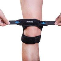 Padillas de rodilla de codo Aonijie Unisex Knecap Band protector ergonómico ajustable para senderismo en funcionamiento, etc.