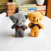 Qixi festival dia dos namorados pingente pingente de pelúcia siamese urso laço borra bolsa acessórios acessórios acessórios pequeno presente boneca chaveiro 230 u2