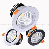 Dimmable Led Downlight Light Ceiling Spot Lamps 3w 5w 7w 9w 12w 15w 18w AC85-230V Cob Wash Wall Recessed Lights Indoor Lighting