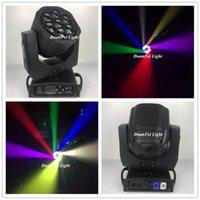 Effetti 12 Pz / lotto 7x15W RGBW LED Testa mobile Ape Bee Bee Fascio 4in1 Zoom DJ Lyre B-Eye per l'illuminazione del palcoscenico effetto bar