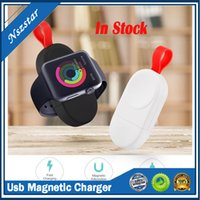 Newest Design Portable Magnetic USB Fast Charger Cable For Apple Watch 1 2 3 4 Magnetic Mini Wireless Charger For iwatch