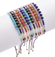 Kingman 2021 Cheap High Quality Bohemian Charming Adjustable Miyuki Seed Beads Anklet Bracelet For Women
