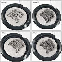 الرموش المغناطيسية اليدوية الرموش الطبيعية الجملة مغناطيس قابلة لإعادة الاستخدام وهمش ماكيلا الرموش الصناعية