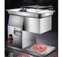 Kommerzielle Desktop Electric Small Frisches Schweinefleisch Huhn Rindfleisch Fleisch Schneidemaschine Fisch Slicer für Home Hotel Restaurant Supermarkt