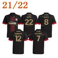 2021 2022 MLS Atlanta United FC Soccer Jersey 21 22 G.Martinez Martinez Nagbe Barco Villalba Futebol Uniforme Camisas Men Kid Kit Goleiro