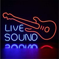 Other Event & Party Supplies Custom Neon Sign Light Guitar Live Sound Music Decoration Acrylic Handmade Wall Ornaments For Bar Club Nightclu