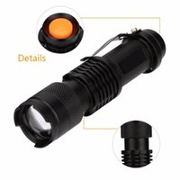 Shockproof XP-E LED Torch Zoomable Adjustable Focus Lantern Portable Penlight Outdoor Camping Flashlights Torches