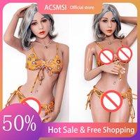 Acsmsi-Realistic TPE Boneca de Sexo Big Boobs Ass Anal vagina Sexy Adulto Toy Robot Life Swimsuit