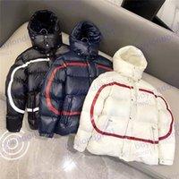 Erkek Kış Ceket Tasarımcısı Aşağı Parkas Yüksek Kalite Mont Ceketler Moda Yuvarlak Boyun Erkekler Ve Kadınlar Rüzgarlık Hoodie Sıcak Giyim