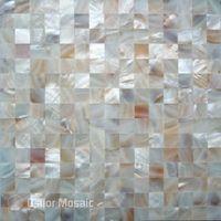 Обои 100% натуральные китайские пресноводные оболочки Мать жемчужной мозаичной плитки для интерьерного дома украшения кухня задняя всплеск стены