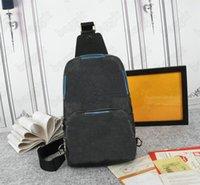 Avenue Bag N41719 Handtasche MANS Leder Schulter Designer N41720 Luxurys Taschen Handtasche Körper Herren Geldbörse Hobos Meldung Kreuz Tote Designer LGTW