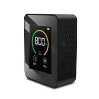 K02 Hava Kalitesi Test Cihazı Monitör Hava Temizleyicileri LCD Ekran Meslek Analizörü Kapalı Akıllı CO2 Dedektörü Ev Aksesuar