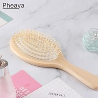 Hair Brushes High Quality Lotus Combs Massage Scalp Anti-static Brush Women Reduce Loss Durable Styling Tool Barber Accessories