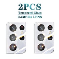 Protective Glass for Samsung Galaxy S21 Ultra Camera Lens Film Tempered Screen Protectors for Samsung S 21 Plus S20 Fe