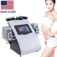 미국 초음파 cavitation 슬리밍 기계 8pads 6in1 지방 흡입 40K Lllt Lipo 레이저 RF 뚱뚱한 손실 진공 스킨 케어 뷰티 장비 FedEx