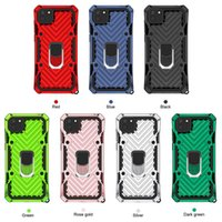Silicone TPU+PC Ring Shockproof Magentic Phone Cases For Huawei Y5P Y6P Y7P Honor 9S P40 Lite E Y6S Y9S P Smart Pro Nova 6SE 7i Y7A Y9A Hybrid Ruggeed Cover