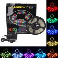 Strips DreamColor RGB LED Kit 5M 2811 SMD 150LEDs DC 12V Waterproof Flexible Dearm Color Light Strip With Power Adapter