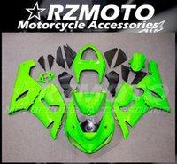 Nuevos kits de cares de abejas ajustados para Kawasaki Ninja ZX-6R 636 2005 2006 05 06 ZX6R Bodywork Set Green