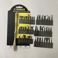 43 in 1 BGA Chip IC Knife Blade Remover Hand Tools Set for Repair Removing iPhone Motherboard Mainboard NAND CPU