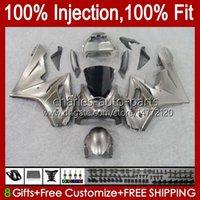 Injection mold Bodys For Triumph Daytona 675 675R 02 03 04 05 06 07 08 106HC.27 Daytona675 Daytona 675 2002 2003 2004 2005 2006 2007 2008 OEM Fairings Kit champagne stock
